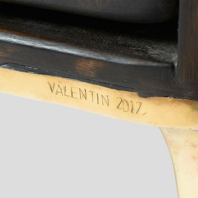Gold Valentin Loellmann, Armoire For Sale - Image 8 of 9