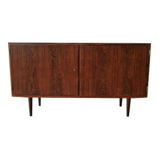Mid-Century Modern Fully Restored Poul Hundevad Rosewood Sideboard For Sale
