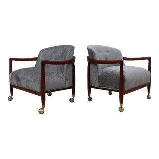 Robsjohn Gibbings For Widdicomb Lounge Chairs For Sale