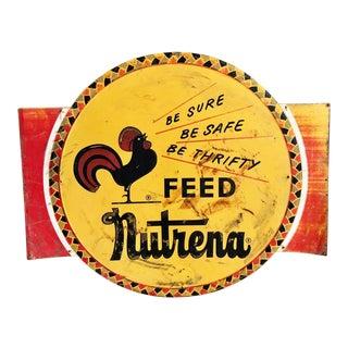 Vintage Nutrena Feed Sign