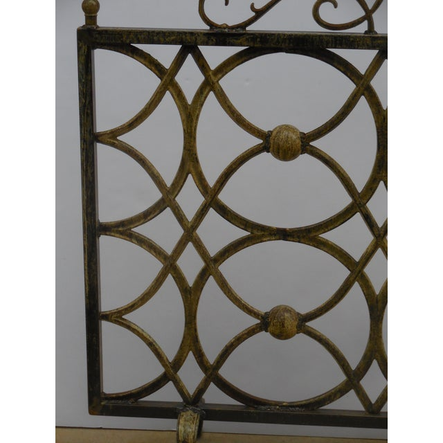 Iron Fireplace Screen - Image 5 of 11