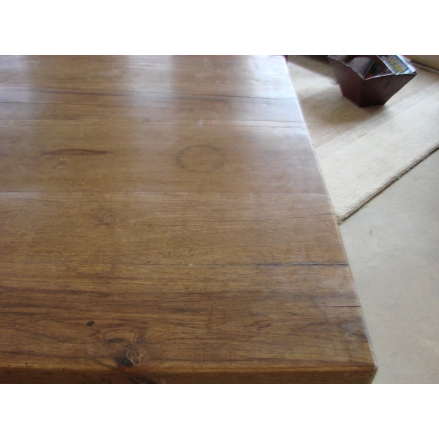 Mexican Oak Dining Table - Image 8 of 8