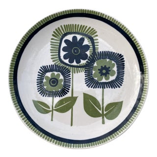 Cavalier Ironstone Royal China Flower Plate For Sale