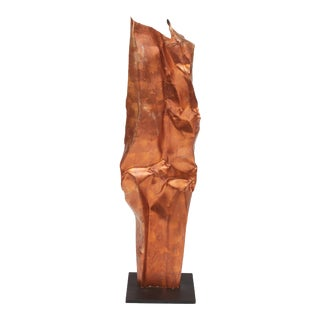 Karen Sculpture, Copper For Sale