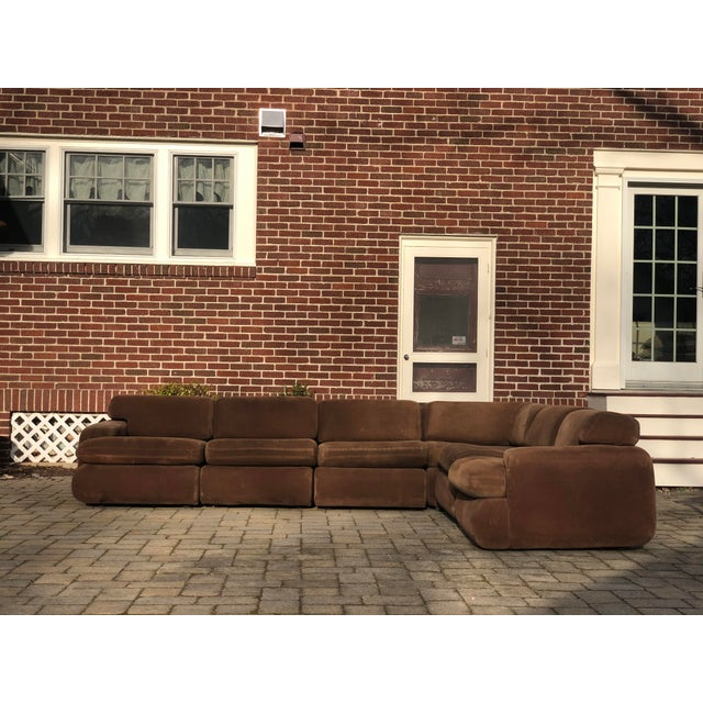 Mid-Century Modern Vintage 1970s Vladimir Kagan Modular Sectional Sofa by Preview For Sale - Image 3 of 13