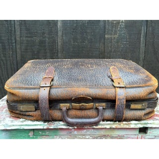 Leather Strap Suitcase Preview