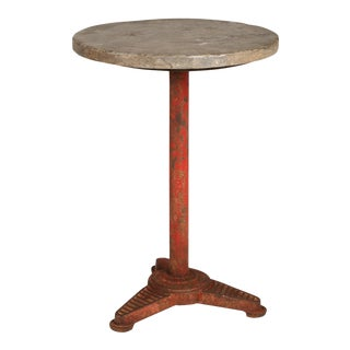 Belgian Bistro Round Table For Sale