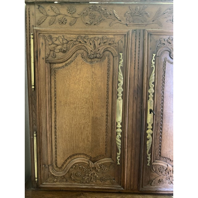 French Antique French Oak Double Buffet, Circa 1860 For Sale - Image 3 of 13