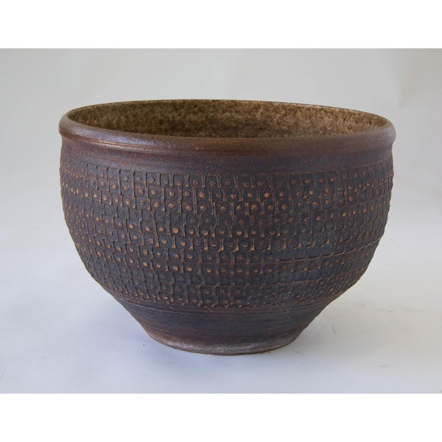 Bob Kinzie Bowl Planter for Affiliated Craftsmen - Image 2 of 7