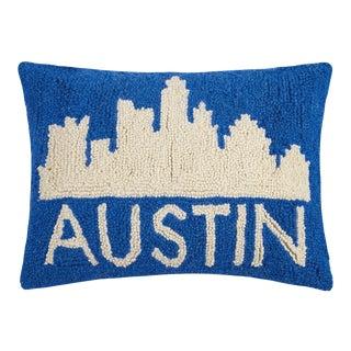 """Austin City Hook Pillow, 12"""" x 16"""" For Sale"""