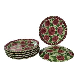 Emily Rose Ceramic Dinner Dishes - Set of 7