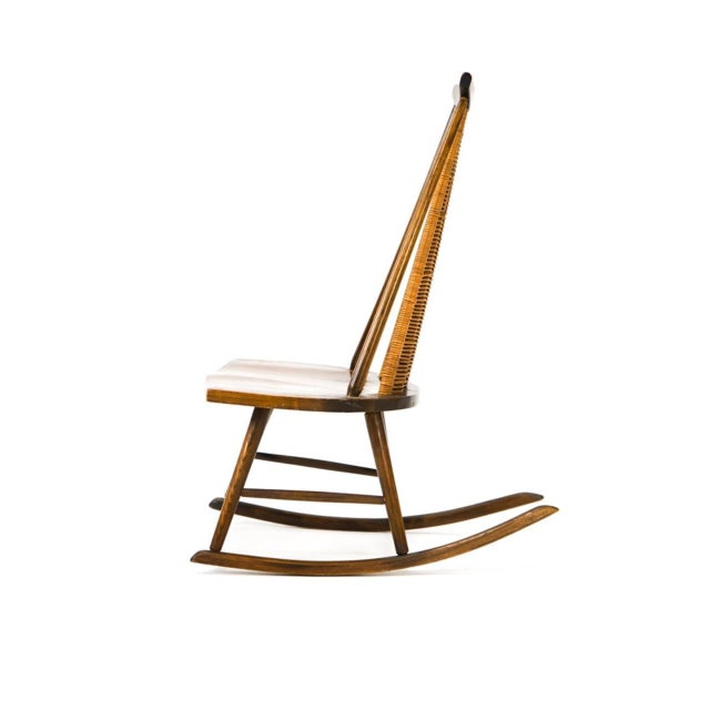 Arthur Umanoff Vintage Arthur Umanoff for Washington Woodcraft Rocking Chair For Sale - Image 4 of 10