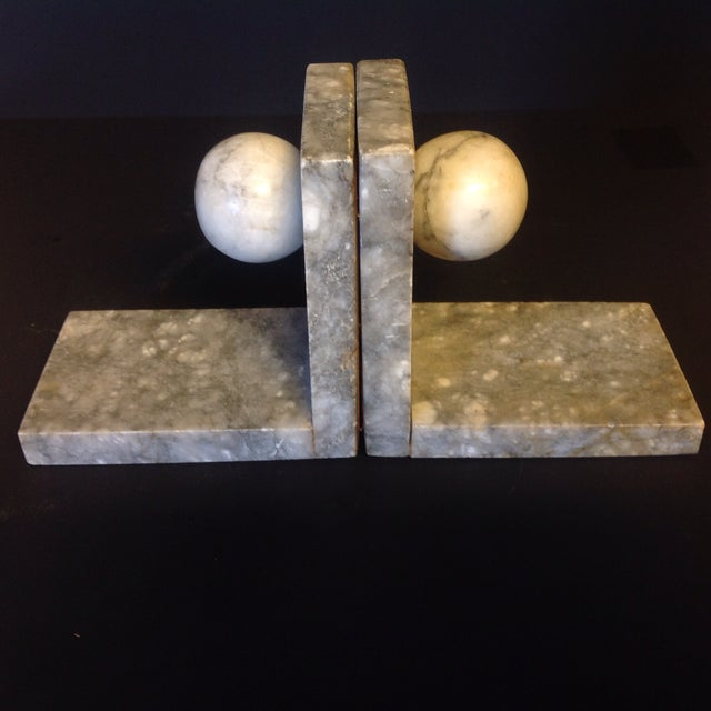 Italian Minimalist Marble Bookends - A Pair - Image 4 of 5