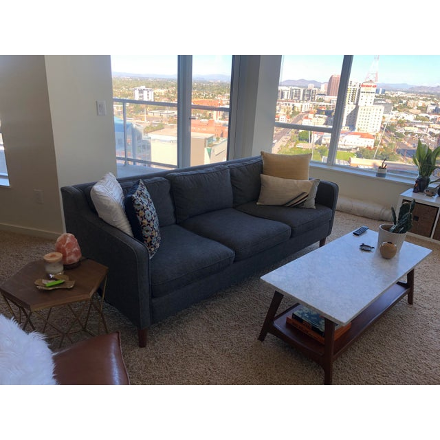 Mid-Century Modern West Elm Hamilton Sofa For Sale - Image 3 of 8