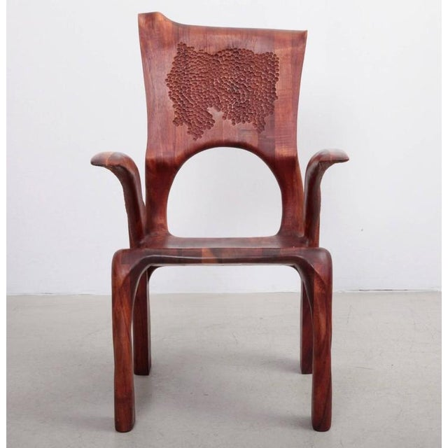 Absolute high end studio armchair by Charles B. Cobb. Made in American walnut. This is the first chair he ever made. A...