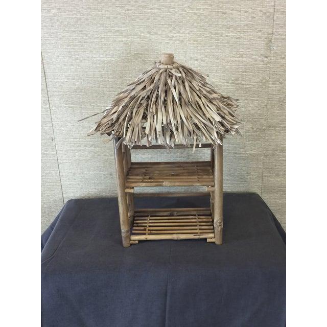 Bamboo Tiki Display Shelves - Image 3 of 9