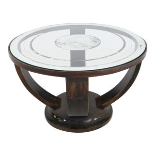 French Gueridon Elegant French Coffee Table 20s Art Deco, For Sale