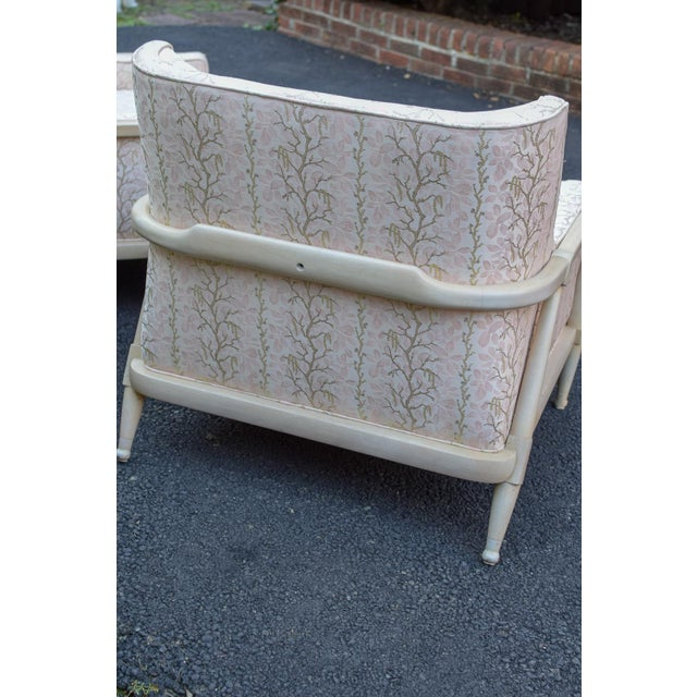 Vintage Mid Century Club Chairs- A Pair For Sale - Image 9 of 12