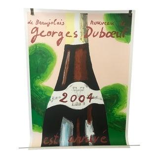 Georges Duboeuf Beaujolais Nouveau Lithograph, 2004