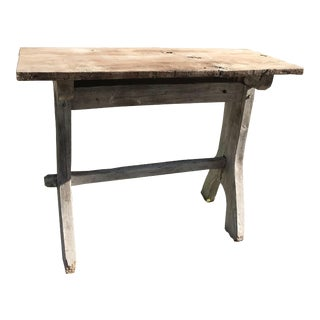 French Farmhouse Console Table For Sale