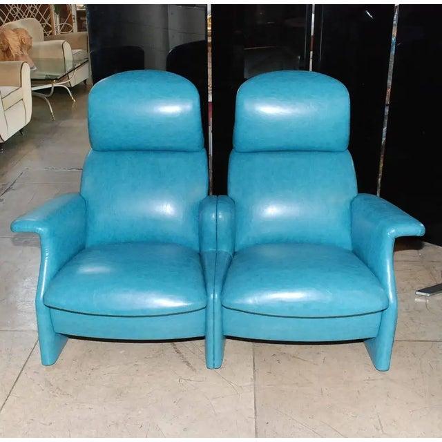 Leather Achille & Pier Giacomo Castiglioni Settee For Sale - Image 7 of 9
