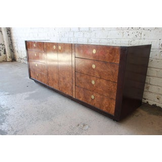 Hollywood Regency Burled Olive Wood Credenza by Century Furniture Preview