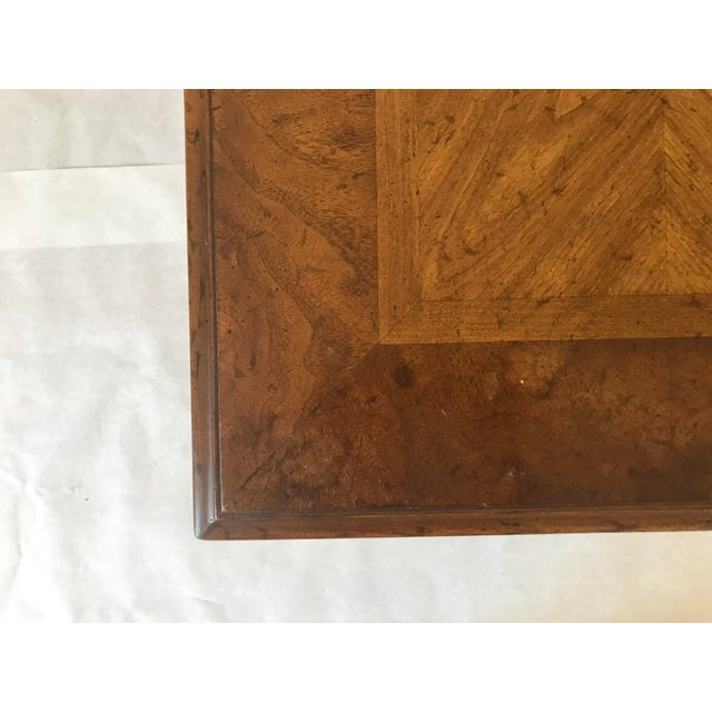 Wood 1970s Traditional Heritage Side Table For Sale - Image 7 of 13