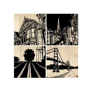 Selamat Designs San Francisco City Panel For Sale