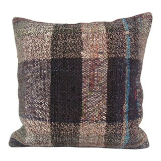 Turkish Handmade Kilim Pillow Cover For Sale