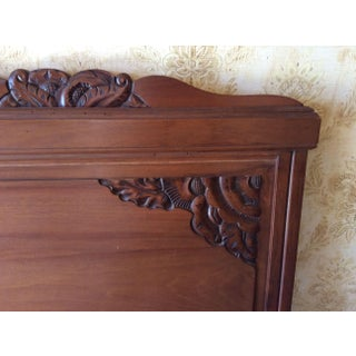French Art Nouveau Bed Preview