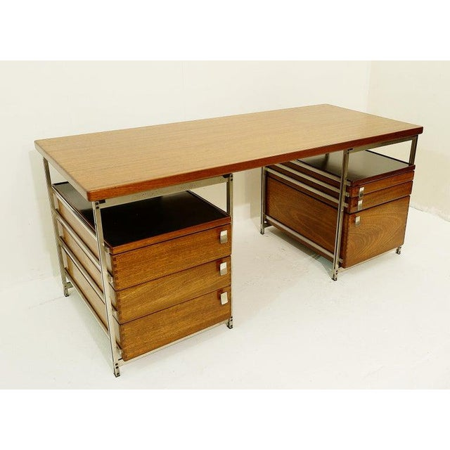Desk by Jules Wabbes for Foncolin, Belgium, 1957