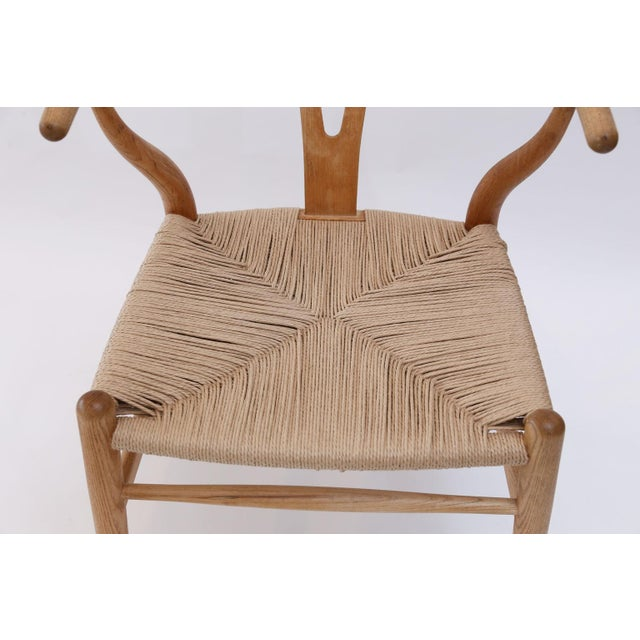 Wishbone Armchairs by Hans Wegner For Sale - Image 10 of 13