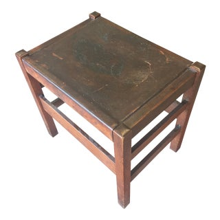 Early 20th Century Stickley Footstool For Sale