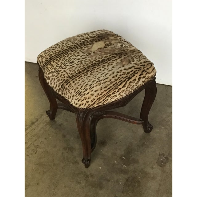 Early 19th Century Antique Louis XIV Style Bench For Sale - Image 4 of 5