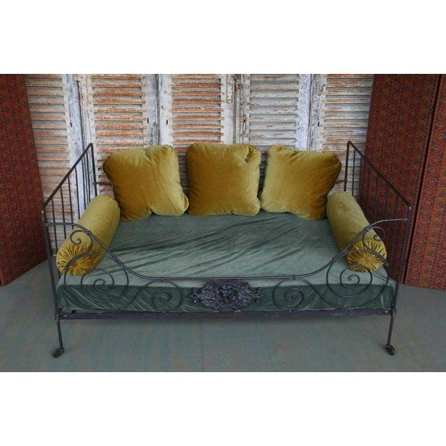 Folding Iron Bed - Image 6 of 9
