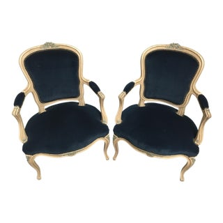 Louis XV Style Armchairs For Sale