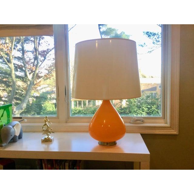 Robert Abbey forJonathan Adler Orange Capri Table Lamp For Sale In New York - Image 6 of 6