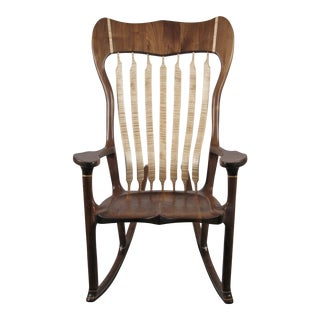 Bill Riekel Maloof Style Rocking Chair For Sale