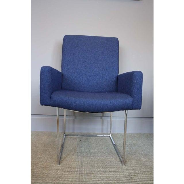 Milo Baughman Thayer Coggin High Back Armchair - Image 4 of 5