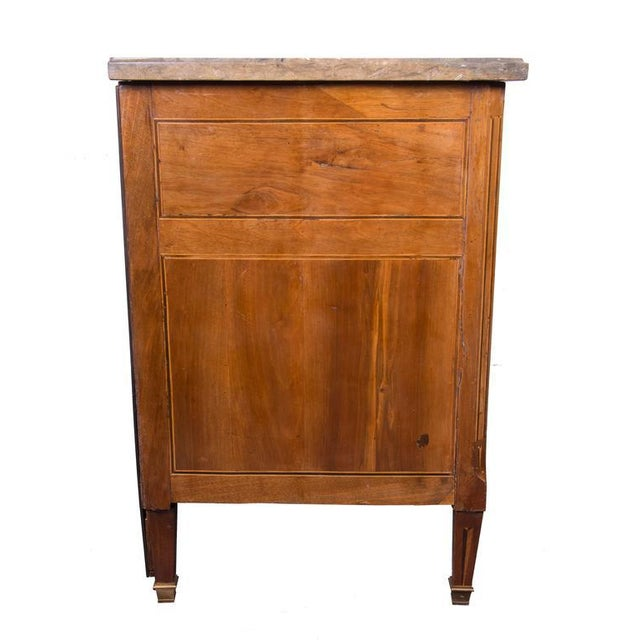 18th Century Italian Neoclassic Walnut and Fruitwood Commode - Image 6 of 6