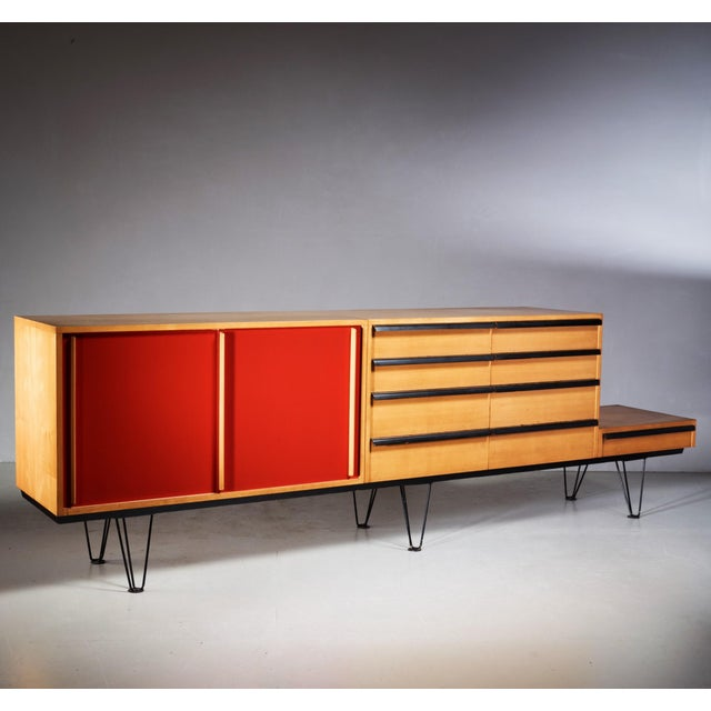 Mid-Century Modern Alfred Altherr sideboard, Switzerland, 1950s For Sale - Image 3 of 6