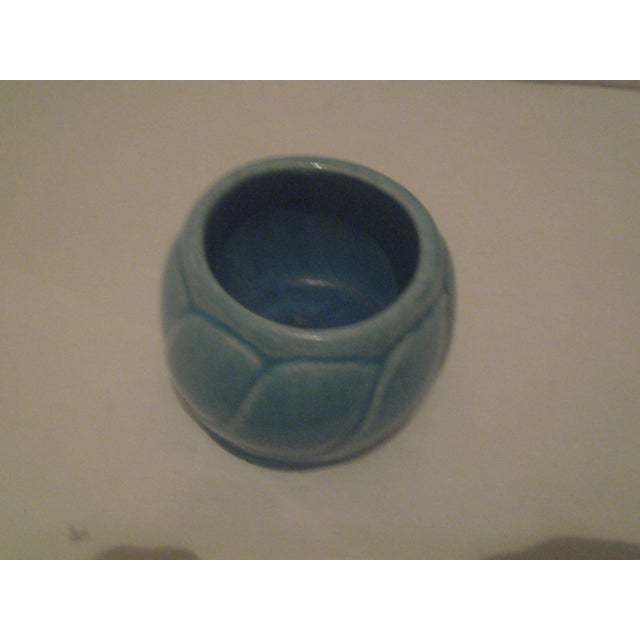 Small Turquoise Broadmoor Pottery Pot - Image 5 of 6