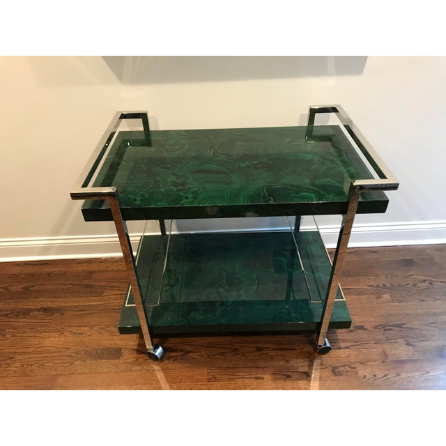 Maddox Maln Bar Cart For Sale - Image 13 of 13