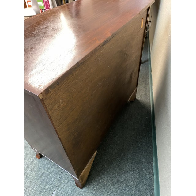 Metal Mid 20th Century Five Drawer Dresser For Sale - Image 7 of 11