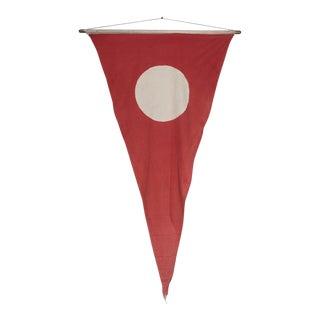 Antique Unframed Flag