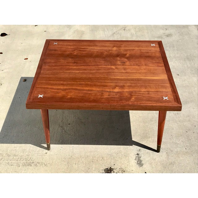 1960s Vintage American Of Martinsville Mid Century Modern Coffee Table For Image 13