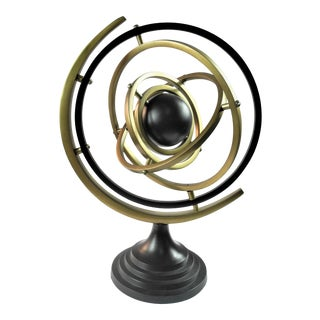 Bungalow 5 Bronze Isaac Armillary Sphere For Sale