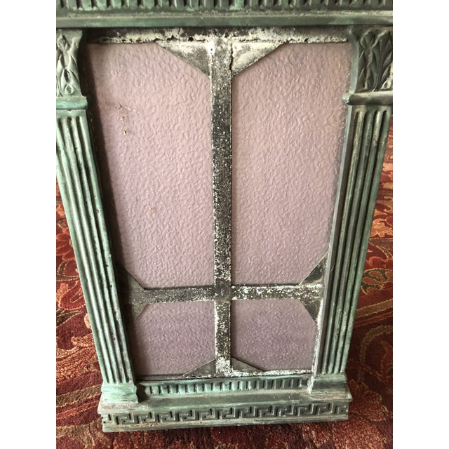 Neoclassical 1910s Neoclassical Copper Lantern For Sale - Image 3 of 13