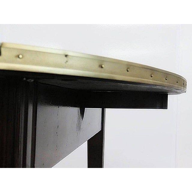 Directoire Style Drop Leaf Dining Table For Sale - Image 9 of 11