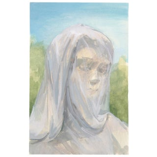 Veiled Woman Original Painting For Sale